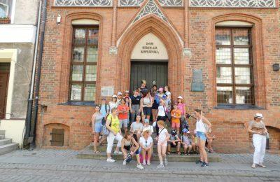 Wycieczka do Torunia dzieci ze Świetlicy Zduńskowolskie Centrum Integracji