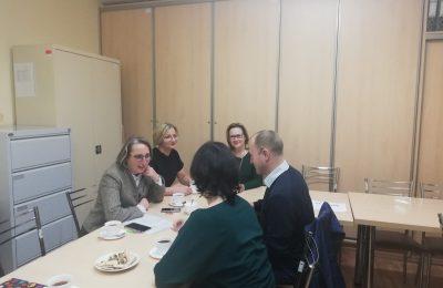 Spotkanie z przedstawicielami Łódzkiego Towarzystwa Alzheimerowskiego