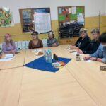 Pracownicy Socjalni Podczas Spotkania Projektu